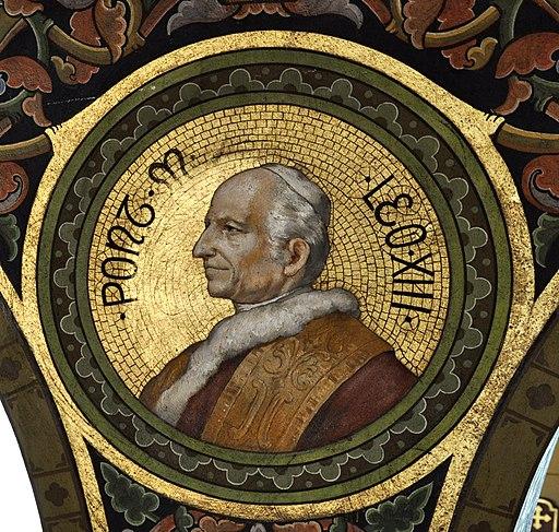 Mehrerau Collegiumskapelle Papst 10 Leo XIII a
