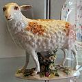 Meissen, 1740-1763 circa, statuina di pecora 03.JPG