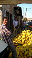 Melon vendor in Bazaar of Nishapur at morning 4.JPG