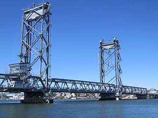 Memorial Bridge (Portsmouth, New Hampshire) Vertical-lift bridge across the Piscataqua River between Portsmouth, New Hampshire, and Badgers Island in Kittery, Maine