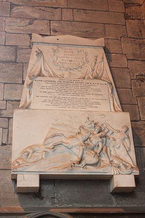 Robert Henry Dick - Memorial to Sir Robert Henry Dick, Dunkeld Cathedral