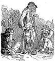 Mendiants bretons dessin de Penguilly, Les Français peints par eux-mêmes, 1854.jpg