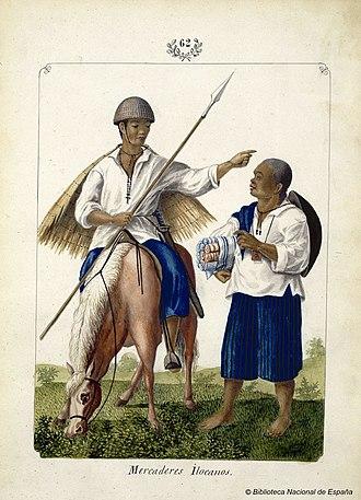 Ilocano people - Ilocano merchants in the mid-19th century.