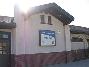 Merced station (Amtrak) - Merced depot