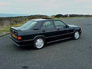 Mercedes Benz 190 E black rear.jpg