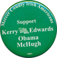 Mercer County Irish Americans Support Kerry Edwards Obama McHugh.png
