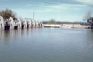 Mesilla Diversion Dam
