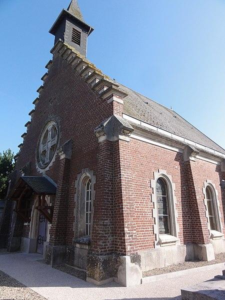 Mesnil-Saint-Laurent (Aisne) église