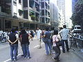 Metal workers' protest in Hong Kong (Aug 2007) - 2007-08-13 14h14m32s DSC02137.JPG