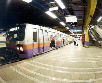 Cairo Metro - The Cairo Metro (line 2)