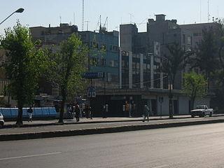 Metro Revolución Mexico City metro station