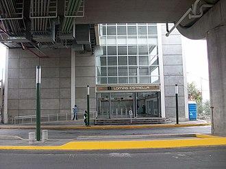 Metro Lomas Estrella - Entrance