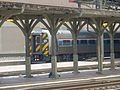 Metroliner cab car on Keystone Service train at Harrisburg, May 2014.jpg