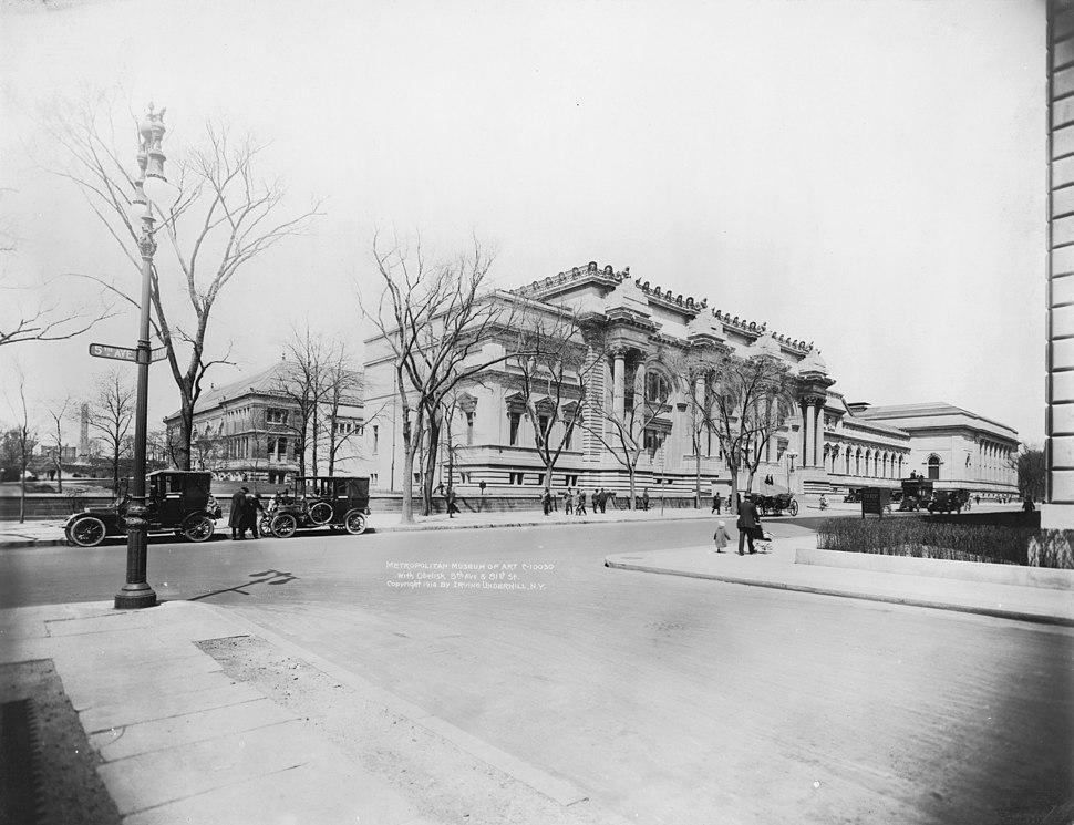 Metropolitan Museum circa 1914 LC-USZ62-101736