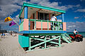 Miami - Lifeguard tower and flags - 0514.jpg