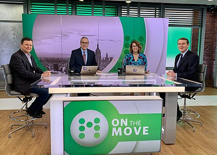 The set of On the Move. Michael Bennet on On the Move.jpg