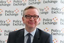 Michael Gove at Policy Exchange delivering his keynote speech 'The Importance of Teaching'.jpg