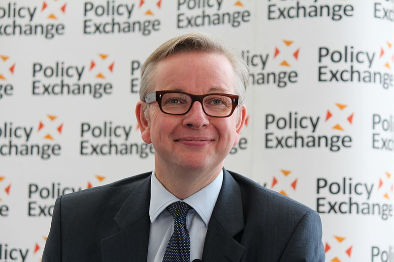 File:Michael Gove at Policy Exchange delivering his keynote speech 'The Importance of Teaching'.jpg