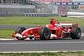 Michael Schumacher - Ferrari F2005 - 2005 Canadian Grand Prix (1253147723).jpg