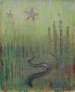 Mikalojus Konstantinas Ciurlionis - CREATION OF THE WORLD (XII) - 1905 - 6, Varsuva
