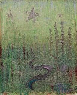 Mikalojus Konstantinas Ciurlionis - CREATION OF THE WORLD (XII) - 1905 - 6, Varsuva