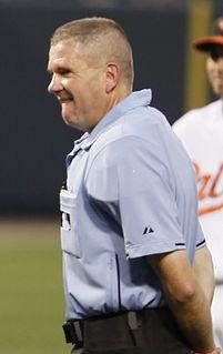 Mike Everitt (baseball) American baseball umpire