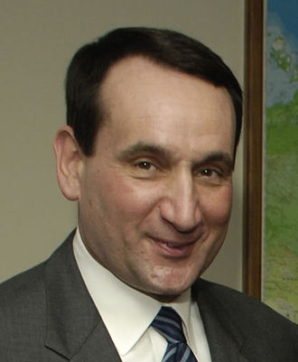 Clair Bee Coach of the Year Award - Mike Krzyzewski of Duke won in 2004.