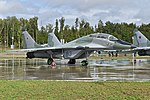 Mikoyan-Gurevich MiG-29UB '83 blue' (38100575301) (2).jpg