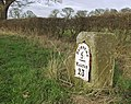 Milestone near South Dalton - geograph.org.uk - 683315.jpg
