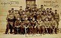 Militaires du 52e gardant la Palais de Justice de Montpellier où est M Albert 1907.jpg