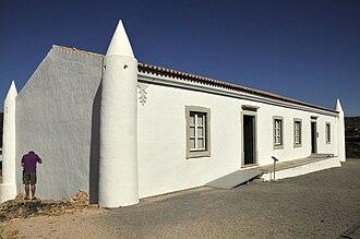 Roman Ruins of Milreu - The 16th-century rural farmhouse redesigned to act as the interpretative centre