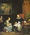 Milton diktiert seinen Töchtern das »Paradise Lost« (Eugène Ferdinand Victor Delacroix).jpg