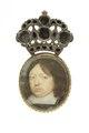 Miniatyrporträtt Karl X Gustav från 1650 cirka - Livrustkammaren - 97890.tif