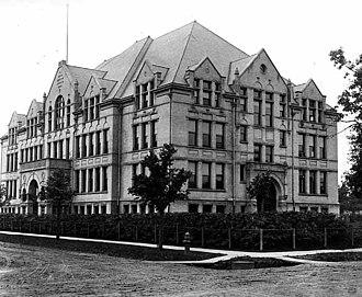 North Community High School - Image: Minneapolis North High School 1902