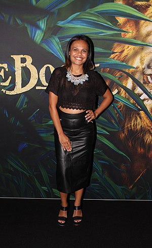 Miranda Tapsell - Tapsell at The Jungle Book premier at Event Cinema in Sydney, March 2016