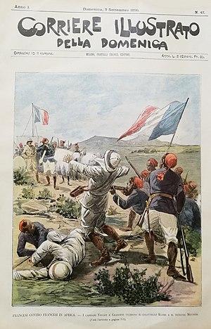 Voulet–Chanoine Mission - The assassination of lieutenant-colonel Klobb.