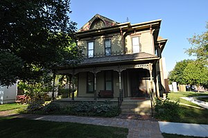 National Register of Historic Places listings in Davison County, South Dakota - Image: Mitchell SD Louis Beckwith House