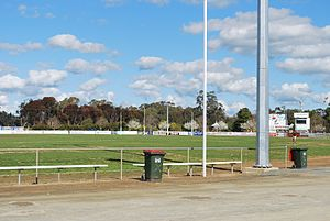 Moama Football Club - Jack Eddy Oval, home of the Moama Football Club