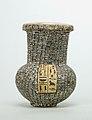 Model Vase Inscribed for Nebseny, FIrst Prophet of Onuris MET 41.2.4 front.jpg