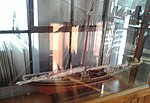 Model of the Bluenose at Britannia Yacht Club.jpg