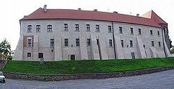 Mogilno. Klasztor benedyktynów od str. południowej