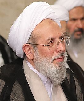 Mohammad Reyshahri in the Meeting of Ayatollah Seyyed Ali Khamenei with government officials (10).jpg