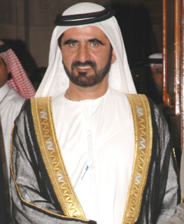 Mohammed bin Rashid Al Maktoum Vice President and Prime Minister of the United Arab Emirates and Ruler of Dubai