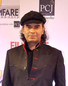 Mohit Chauhan at 59th Filmfare Awards