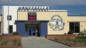 Montebello High School - Front of school