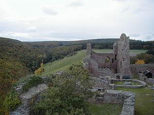 Hallgarten (Pfalz) - Montfort Castle