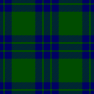 Clan Montgomery - Montegomerye tartan, as published in 1842 in Vestiarium Scoticum.