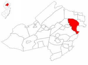 Montville Township highlighted in Morris Count...