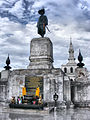 Monument of King Rama VII at Sukhothai Thammathirat Open University 02.jpg