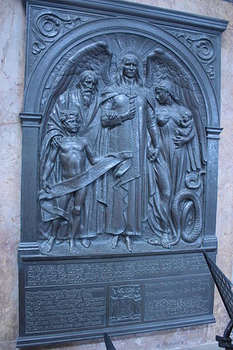 Peter Lowe (surgeon) - Monument to Dr Peter Lowe, inside Glasgow Cathedral